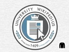 University Wikipedius Crew Sweatshirt