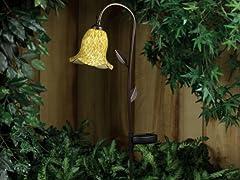 Westinghouse Solar Garden Morning Glory Light, Brown