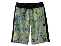 Zinc Gray - Masher Boardshort