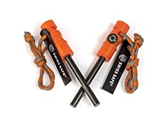 Swiss Safe Fire Starter & Compass (2-Pk)