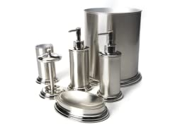 Preston 6-PC Brushed Nickel Bath Set