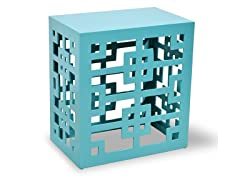 Tatum End Table - Aqua