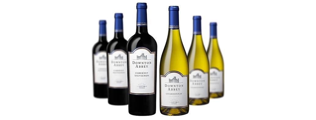Downton Abbey Wine Mixed (6)