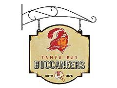Tampa Bay Buccaneers Vintage Tavern Sign