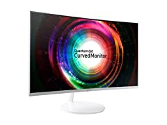 "Samsung 27"" Curved Quad-HD LED-Backlit Monitor"