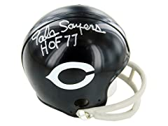 Gale Sayers Signed Bears Mini Helmet
