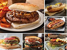 Omaha Steaks Burger & Frank Blowout Pack