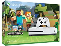 Xbox One S Minecraft Bundle (500GB)