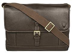 Hunter Leather Messenger