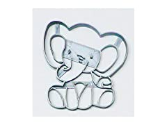 Baby Elephant Detailed Cookie Cutter