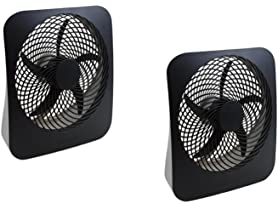 "O2COOL 10"" Portable Fan - 2 Pack"