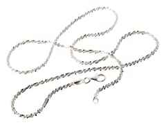 Sterling Silver Roc Chain