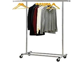 Heavy Duty Clothing Garment Rack, Chrome