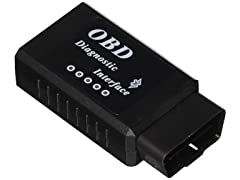 OxGord Bluetooth OBD II Reader Scan Tool