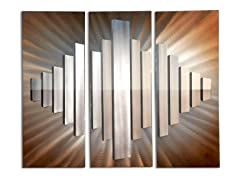 Sunburst City 3PC Wall Graphic