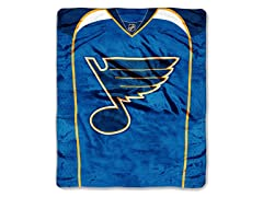 St. Louis Blues Throw