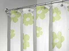 Interdesign Poppy Shower Curtain