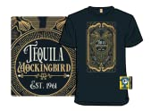 Tequila Mockingbird Bottle Label