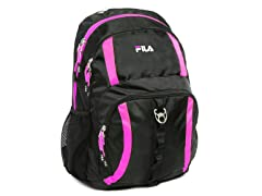 Lumina Backpack - Black/Fuchsia