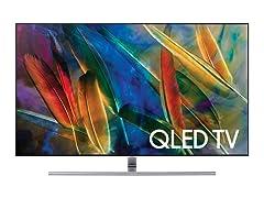 """Samsung 75"""" Class Q7F QLED 4K Smart TV"""