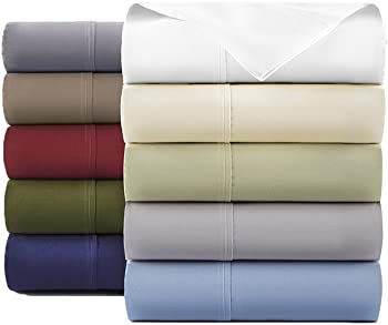 10-Count 600TC 100% Egyptian Cotton Sheets (Assorted Colors)