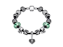 The Luck Of the Irish Charm Bracelet
