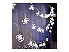 E-lishine Snowflake String Light