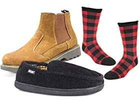 MUK LUKS Men's Casual Shoes, Slippers, and Socks