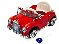 Lil Rider Red Cruisin' Coupe Ride-On Car