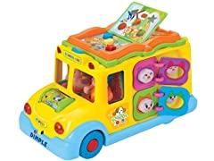 Educational Interactive School Bus Toy