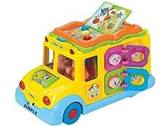 Educational Interactive School Bus Toy