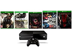 Xbox One 500GB with 5 Games