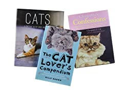 Cat Lovers Hardcover 3pk Book Bundle