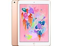 "Apple 9.7"" iPad 6 (2018), 32GB Gold"