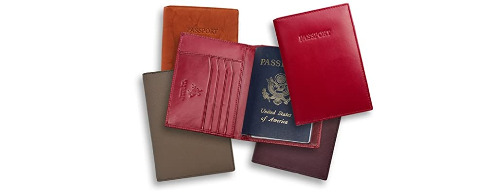 Visconti Soft Leather Secure RFID Blocking Passport Cover