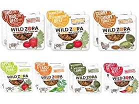 Wild Zora Meat and Veggie Bars, 14 Pack