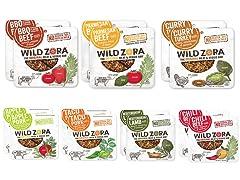 Wild Zora Meat and Veggie Bars, 14 Pack