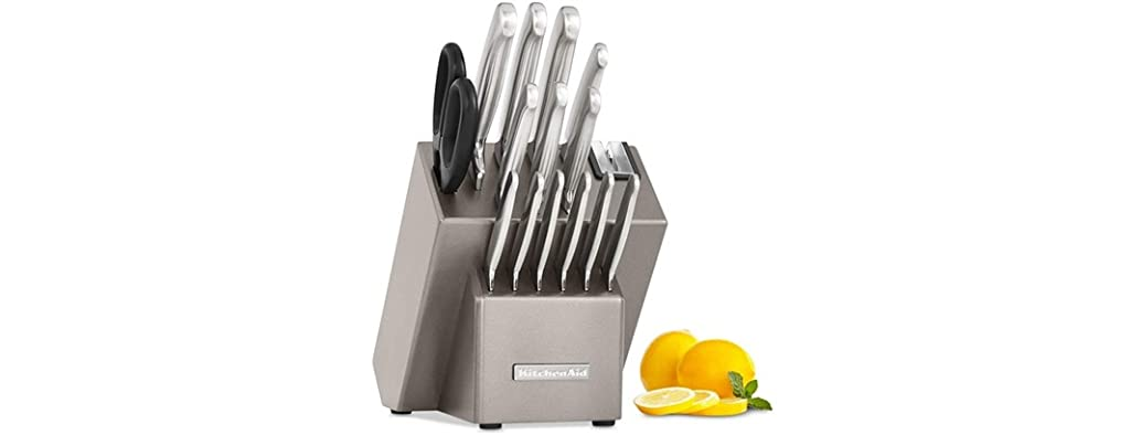 KitchenAid 16-Pc. Stainless Steel Cutlery Set