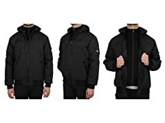 Men's Tech Jacket W DetachableHood