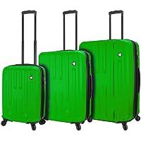 Mia Toro 3 Piece ITALY Illeso Hardside Spinner Luggage Set