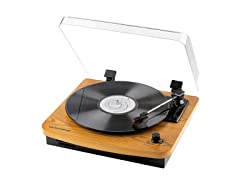 Musitrend Record Player 3-Speed Turntable