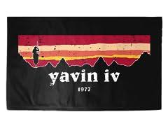 """""""Yavin IV"""" 3' x 2' Rug"""