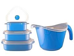 Reston Lloyd Bowl & Storage Set-5 Colors