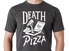 """Death By Pizza"" Graphic Tee"