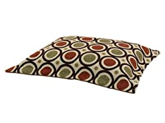 "San Francisco Kiwi 26x32 2"" Flanged Pet Bed"