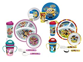 Zak Designs Mealtime Sets - Your Choice!