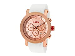 Red Line 18101VD-RG-09-WH Compressor Chronograph