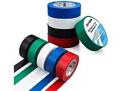 Maximm PVC Vinyl Electrical Tape (10-Pack)