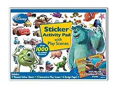 Disney Pixar Sticker Activity Pad with Play Scenes