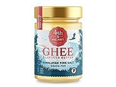 4th & Heart Himalayan Salt Grass-Fed Ghee Butter